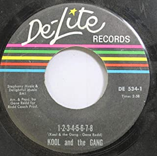 Kool and the Gang 45 RPM 1-2-3-4-5-6-7-8 / Funky Man