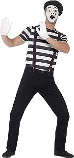 Smiffy's Men's Gentleman Mime Artist Costume