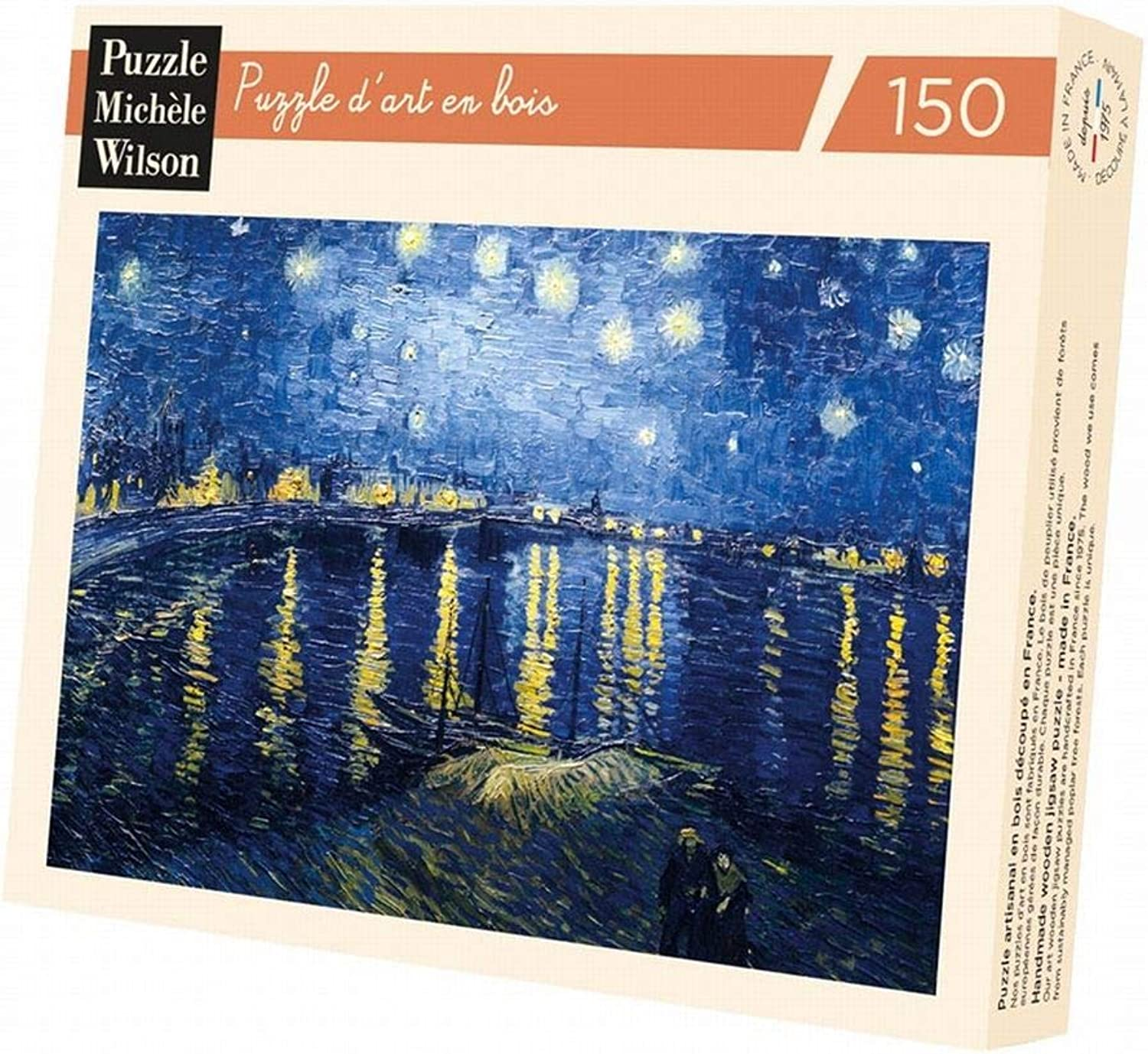 Jigsaw Puzzle 150 pieces  Wooden Jigsaw Puzzle  Van Gogh