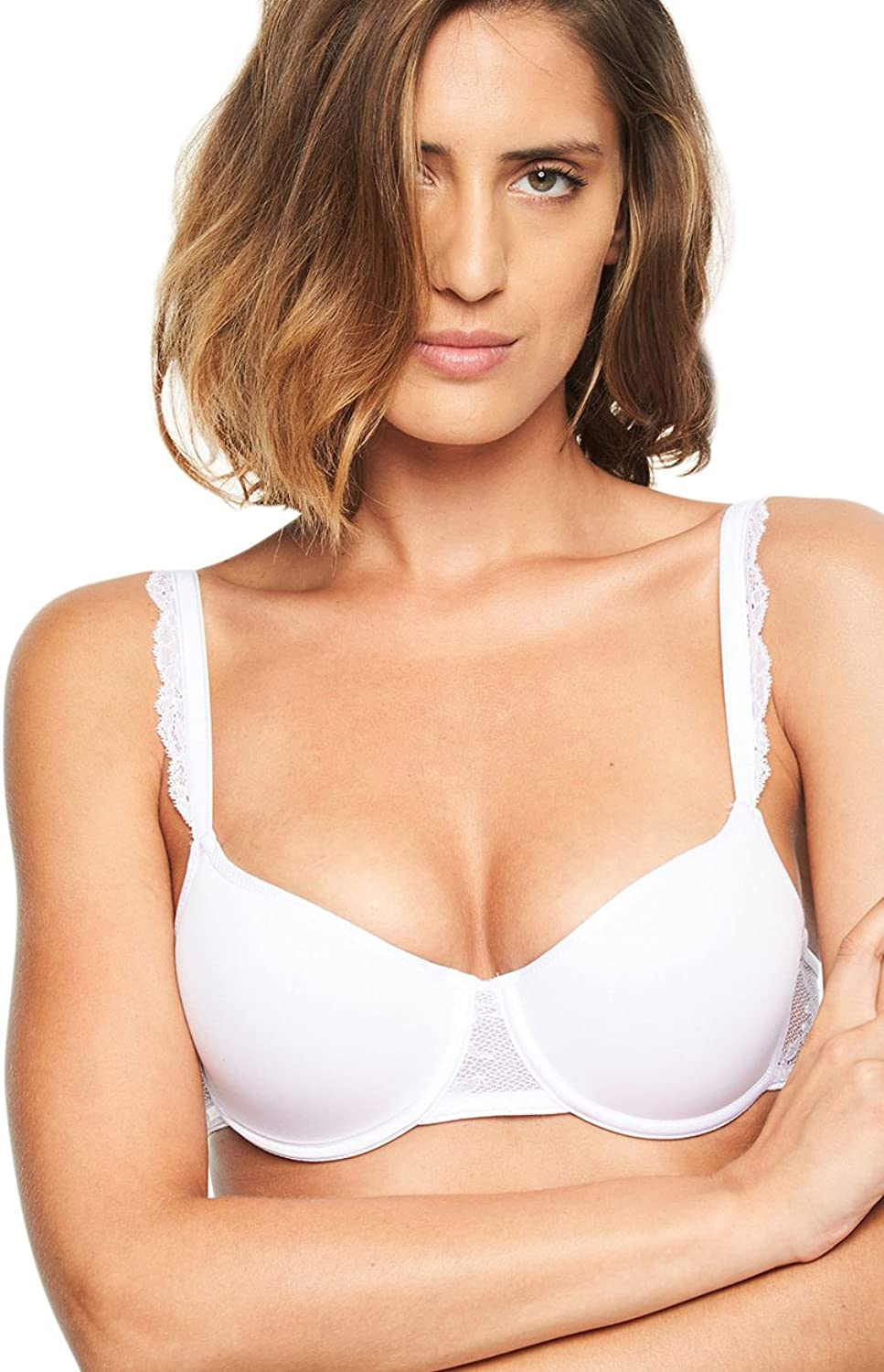 Chantelle Everyday Lace Congreenible Demi Spacer TShirt Bra (6725)