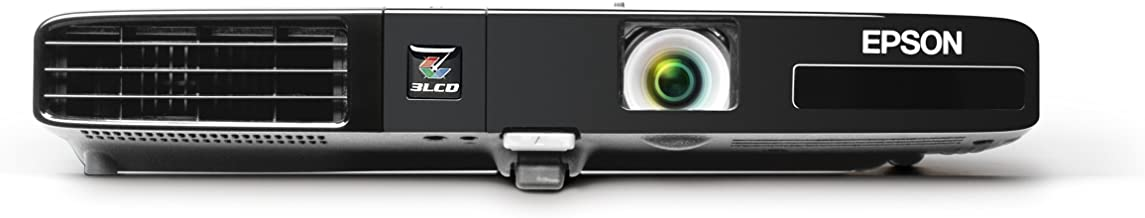 Epson PowerLite 1751, XGA, 2600 Lumens Color Brightness, 2600 Lumens White Brightness, Ultra Lightweight 3LCD Projector