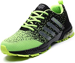 Mevoit Mens Running Shoes Fashion Breathable Air Cushion Sneakers Lightweight Tennis Outdoor Sport Casual Walking Athletic...