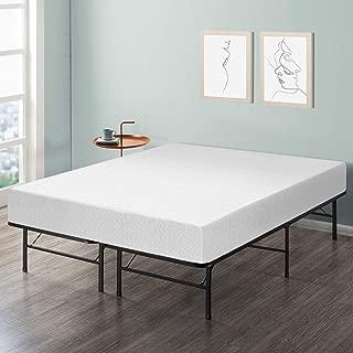 Best Price Mattress 10-Inch Memory Foam Mattress and Bed Frame Set, Queen