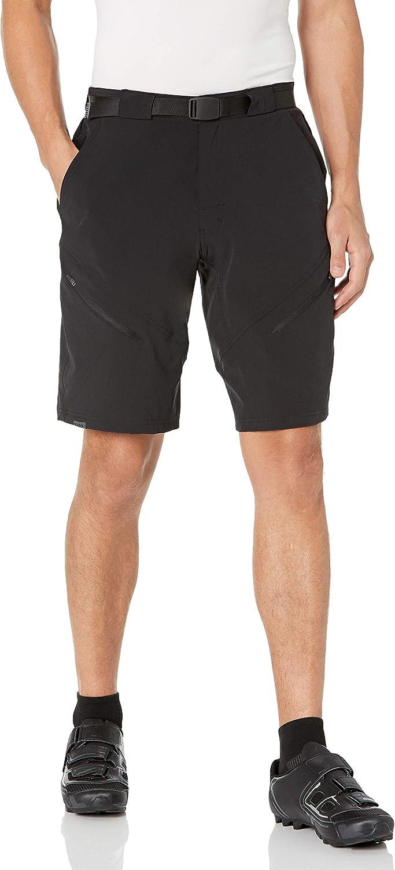 favorite ZOIC Men's Black Market Shorts Liner Essential San Francisco Mall Cycling