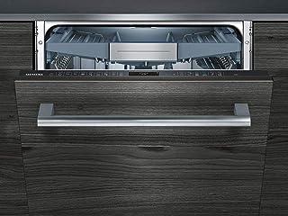 Siemens iQ500 SN758X46TE lavavajilla Totalmente integrado 14 cubiertos A+++ - Lavavajillas (Totalmente integrado, Tamaño completo (60 cm), Madera, Botones, 1,75 m, 1,65 m)