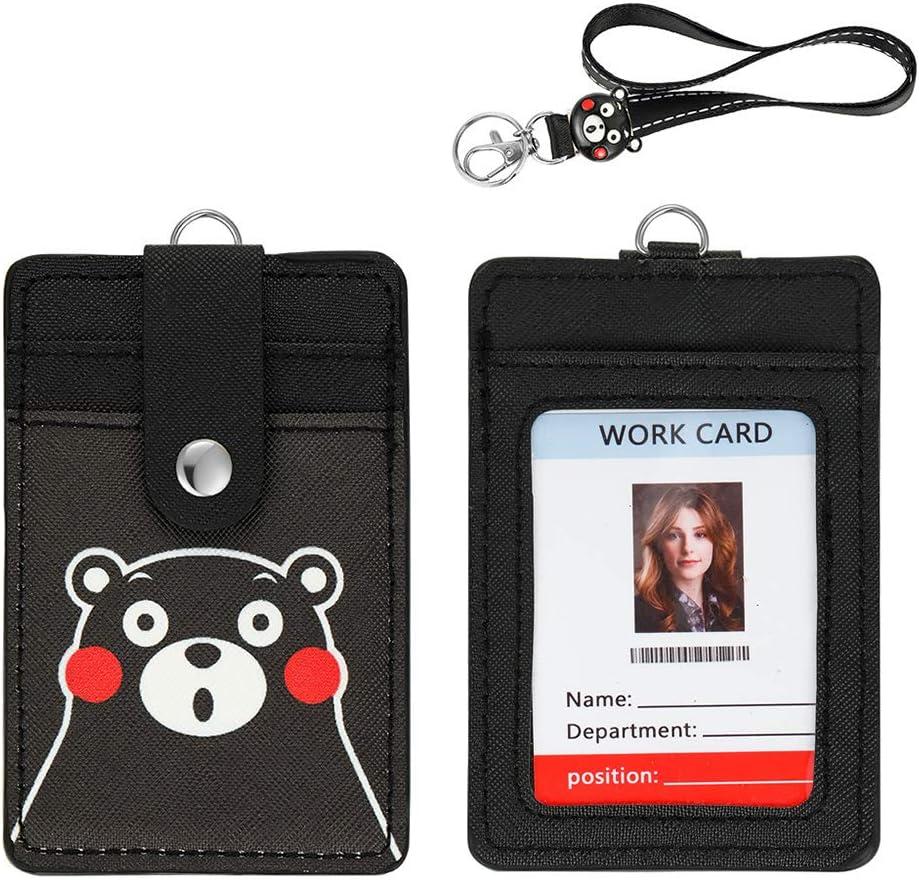 【2020 Latest】ID Tucson Mall Badge Be super welcome Holder Card Credit Woosifun Cute