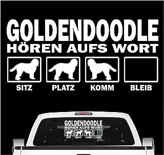 "Goldendoodle Rettungsleine K598 8 /"" Vinyl Aufkleber Hund Aufkleber"