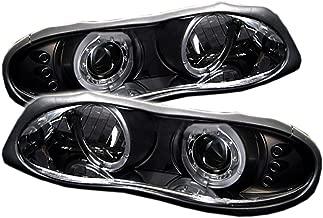 Spyder Auto Chevy Camaro Black Halogen LED Projector Headlight