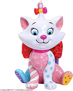 Enesco Disney by Britto The Aristocats Marie Miniature Figurine, 3.54 Inch, Multicolor