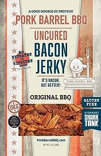 Pork Barrel BBQ Original BBQ Uncured Bacon Jerky