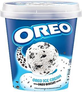 Nestle Oreo Ice Cream Tub, Vanilla - Frozen, 750 ml