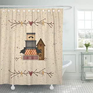 Best birdhouse shower curtain Reviews