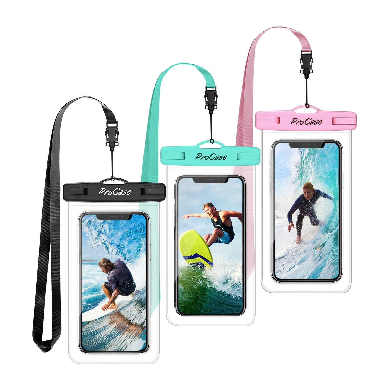 Procase Universal Waterproof Cellphone Underwater