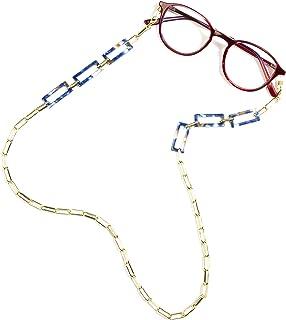 Cadena para gafas, correa para gafas de sol, cadena de gafas de sol, cadena de gafas de moda, retenedor de gafas de lectur...