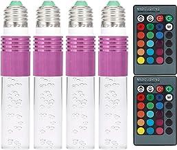 Les-Theresa 3W RGB LED gloeilamp met afstandsbediening voor slaapkamer bar vakantie party AC85-265V (paars)