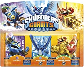 Skylanders Giants: Triple Pack A (Pop Fizz, Trigger Happy, Whirlwind) - compatible con Trap Team