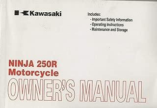 2008 KAWASAKI MOTORCYCLE NINJA 250R OWNER'S MANUAL P/N 99987-1445 (505)
