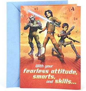 Hallmark Birthday Card for Kids (Star Wars Rebels Poster)