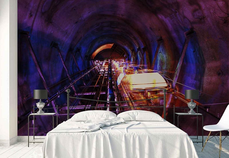 アドバンテージジャンル虫を数えるエレベータチューブトンネルビューフォト壁紙壁画 L - 8ft 4in x 6ft (WxH)
