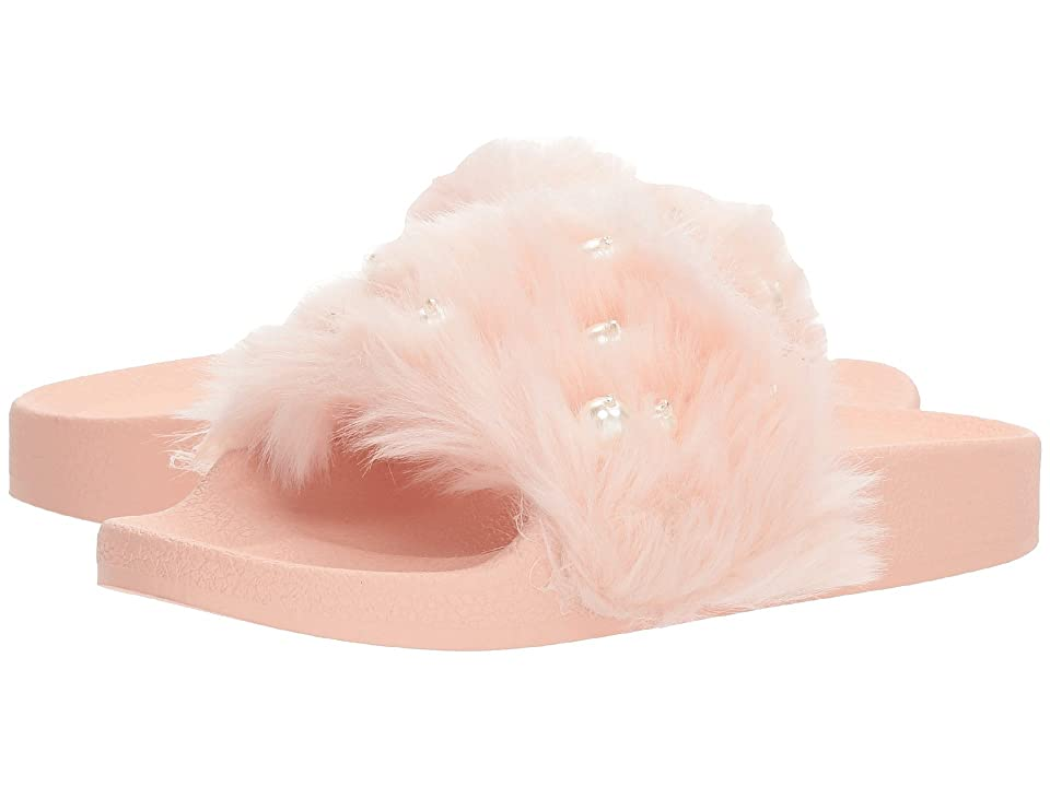 Jessica Simpson Kids Quake (Little Kid/Big Kid) (Pink/Faux Fur) Girl