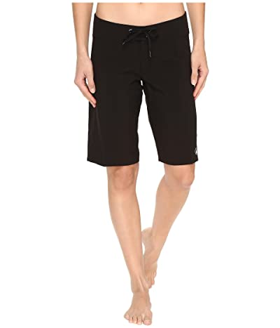 Volcom Simply Solid 11 Boardshorts (Black) Women