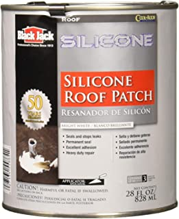 GARDNER-GIBSON 5586-1-02 Quart White Sili Silicone Roof Patch
