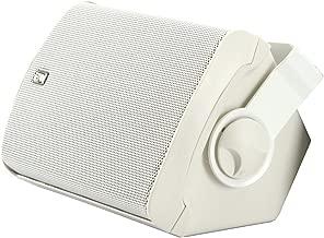 Poly-Planar MA-7500-W 5x7 Box Speaker White 50W,