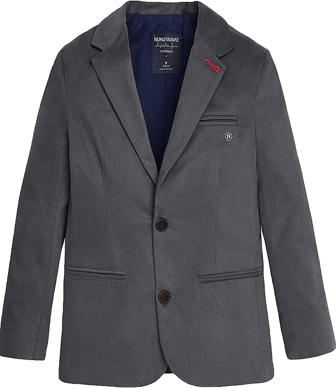 Mayoral Junior Boy's Formal Blazer Gray, Sizes 8-16