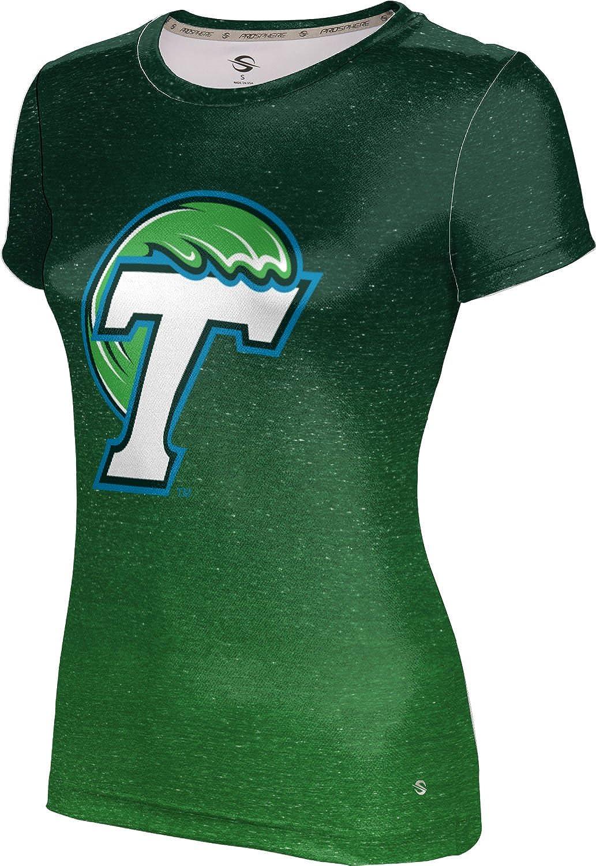 Popular ProSphere Tulane University Girls' Max 55% OFF Performance Ombre T-Shirt