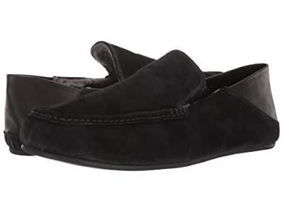 Vince Gino-2 (Black Suede) Men