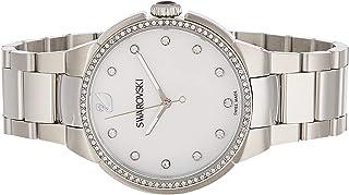 ساعة كوارتز بعرض انالوج وسوار ستانلس ستيل للنساء من سواروفسكي 5181635