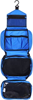 ONEGenug Hanging Waterproof Toiletry Bag Wash Bag Cosmetic Bag Travel Toiletry kit Outdoor Organizer (Blue)