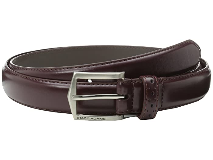 1940s Trousers, Mens Wide Leg Pants Stacy Adams 30mm Pinseal Leather Belt X Cordovan Mens Belts $20.00 AT vintagedancer.com