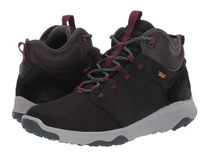 Teva  Arrowood Venture Mid WP (Black) Womens Shoes