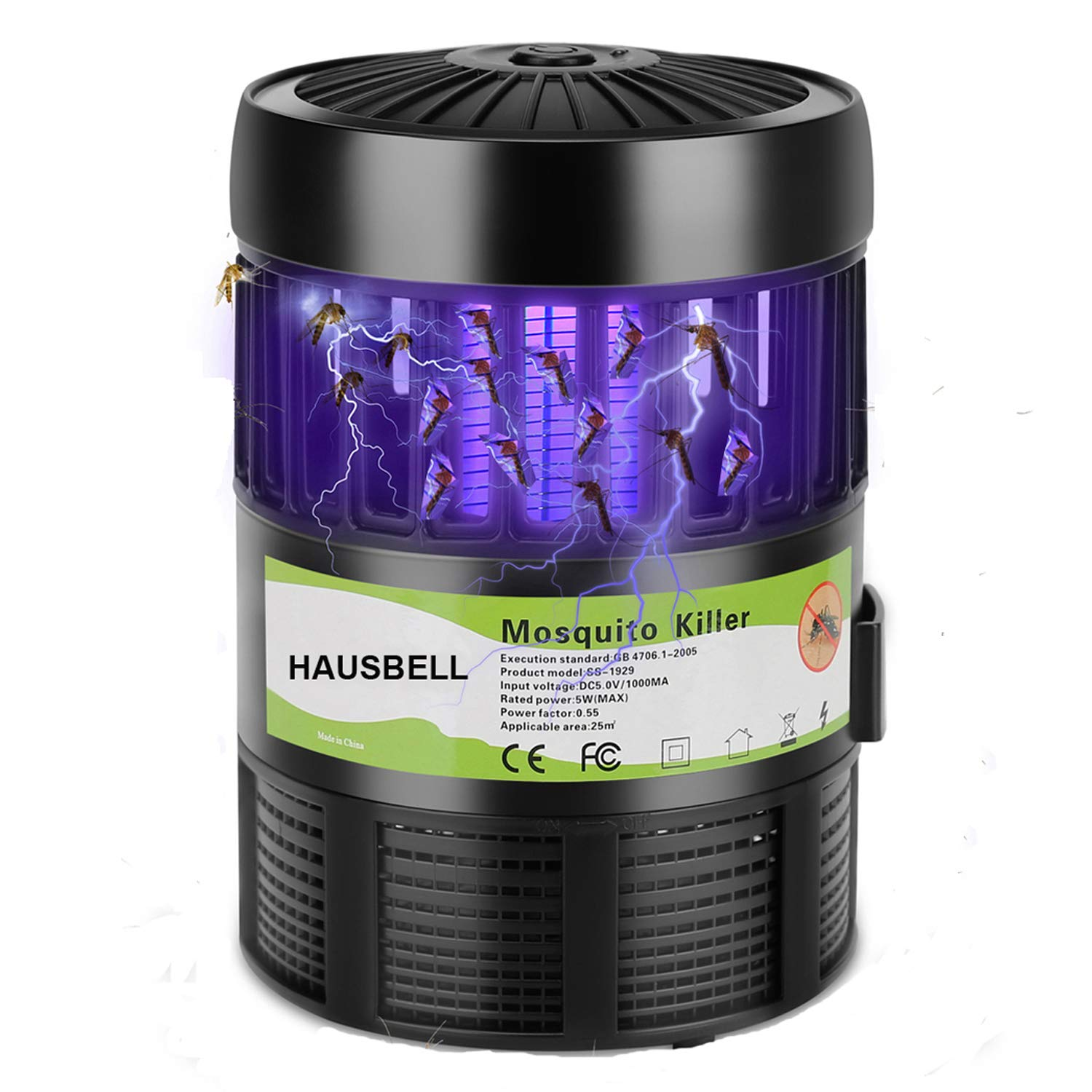 Hausbell Mosquito Control Attractant Included