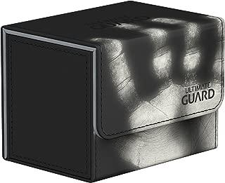 Ultimate Guard Deck Box: Sidewinder 80+ ChromiaSkin Black