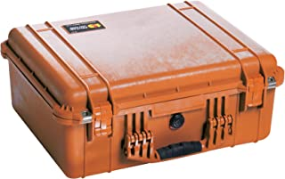 Pelican 1550 Camera Case With Foam (Orange)
