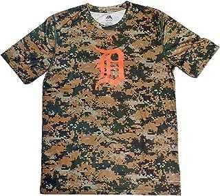Detroit Tigers Youth Digital Camo Cool Base T-shirt