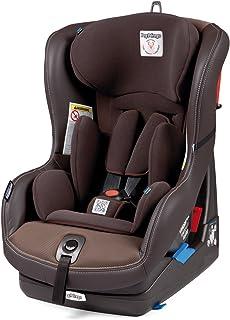 Peg Perego - Silla de bebé para coche o viaje, grupo 0+ 1,regulable marrón