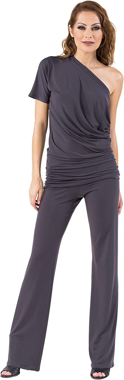 Eva Varro Women's Short Sleeves Loose Ruched Tunic