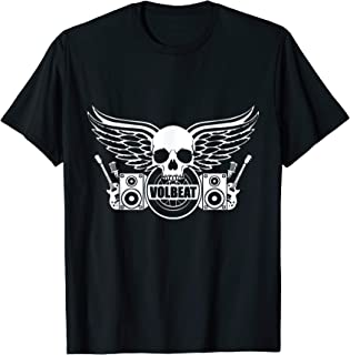 """VOLBEAT /""""BEYOND HELL ABOVE HEAVEN/"""" BLACK T-SHIRT NEW OFFICIAL ADULT ALBUM COVER"""