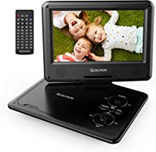 "Portable DVD Player 11.5"" with 5 Hours Rechargeable Battery by SPACEKEY, 9"".."