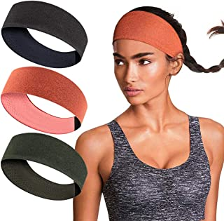 isnowood Sweat Bands Headbands for Women Workout...