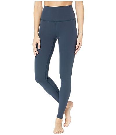 Beyond Yoga High Waisted Long Leggings (Nocturnal Navy) Women