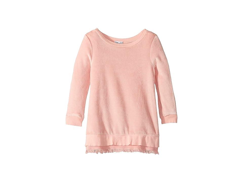 Splendid Littles Velour Dress (Little Kids) (Mellow Rose) Girl