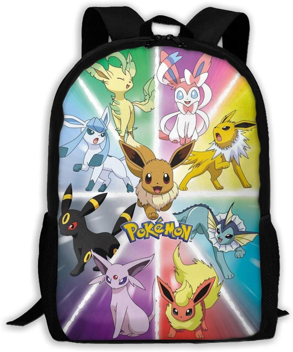 429 新作アイテム毎日更新 ※アウトレット品 Poke-Eeveelutions Schoolbag Backpack Sh Multipurpose Novelty