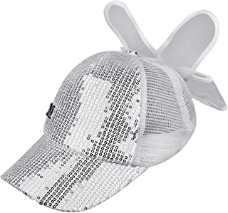 Evansamp Summer Kids Hats,Children Baby Boy Girls Sun Hat Cap Breathable Show Hat Solid Color Mesh Baseball Caps Hats for 3-8 Years old