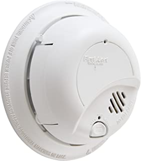 First Alert Smoke Detector Alarm | Hardwired with Backup Battery, BRK9120b6CP