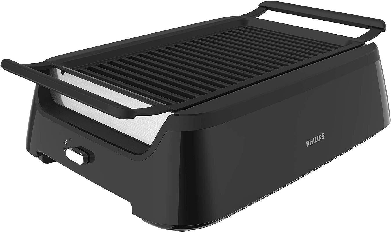 Philips Indoor Smoke Less Grill Plus Bonus Cleaning Tool HD6371 98