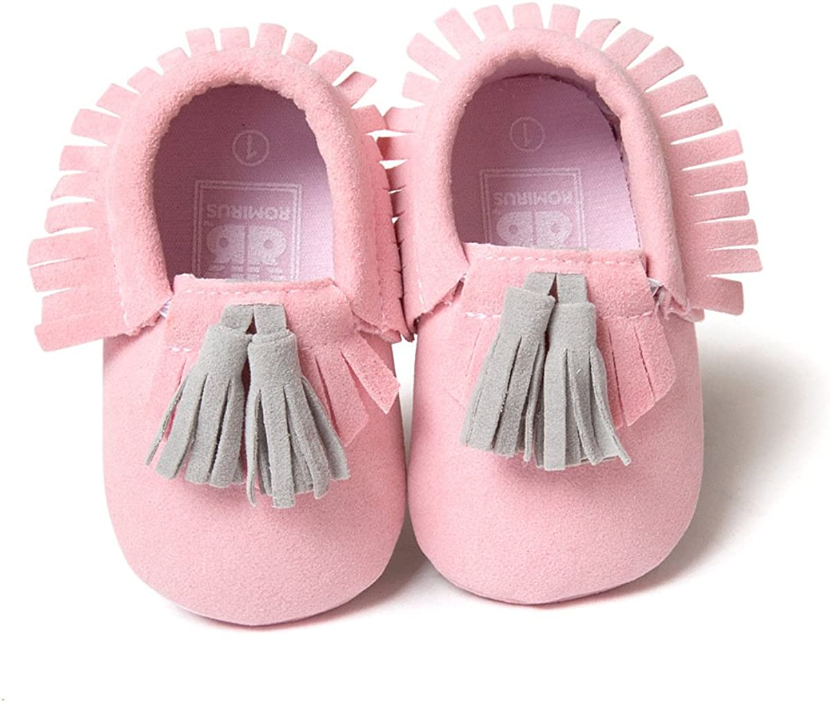 Save Beautiful Infant Baby Boys Girls Crib Shoes PU Leather Tassel Moccasin Prewalker Loafers First Walkers